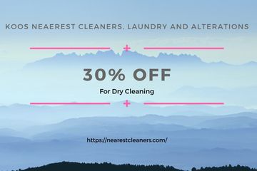 Koos Nearest Cleaners, Laundry and Altertaions Coupons. Laundry Coupons. Laundry in Torrance.
