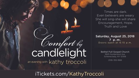Comfort by Candlelight, Kathy Troccoli