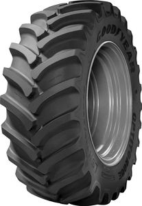 The Goodyear® OPTITORQUE® features a wide lug base for smooth roading and less rutting in fields; a