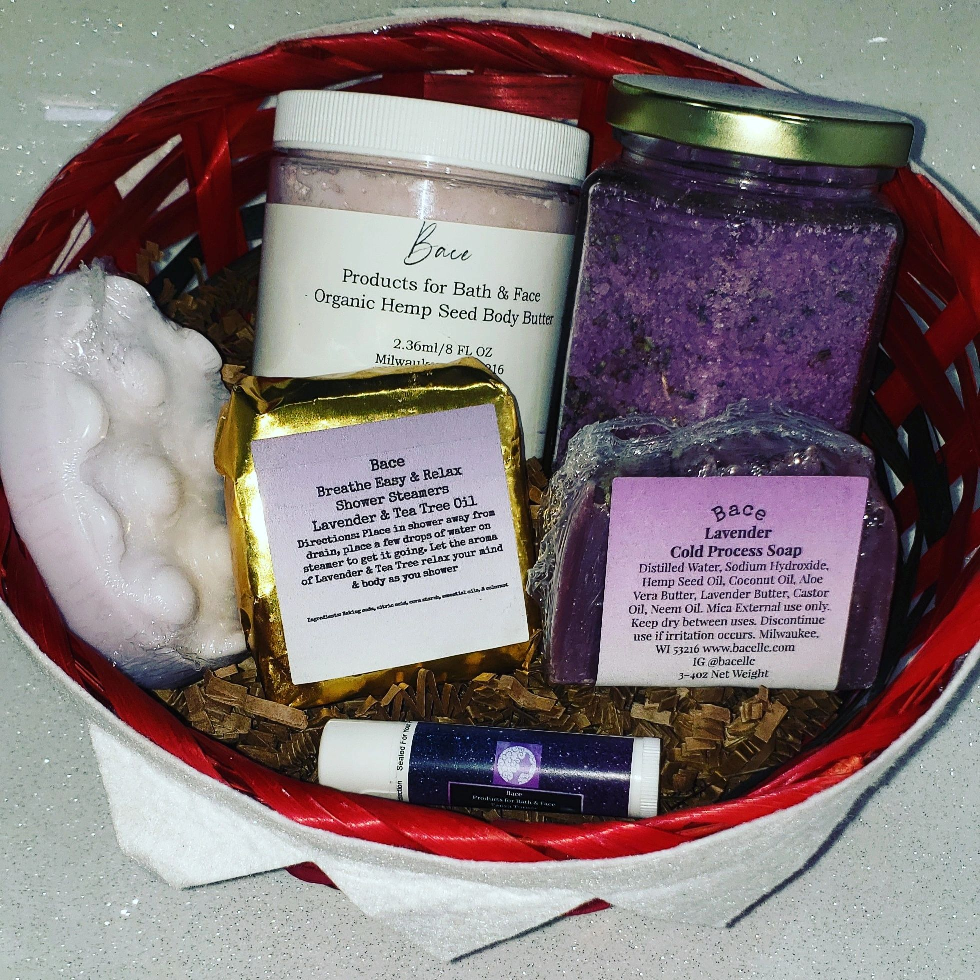 Christmas baskets now available