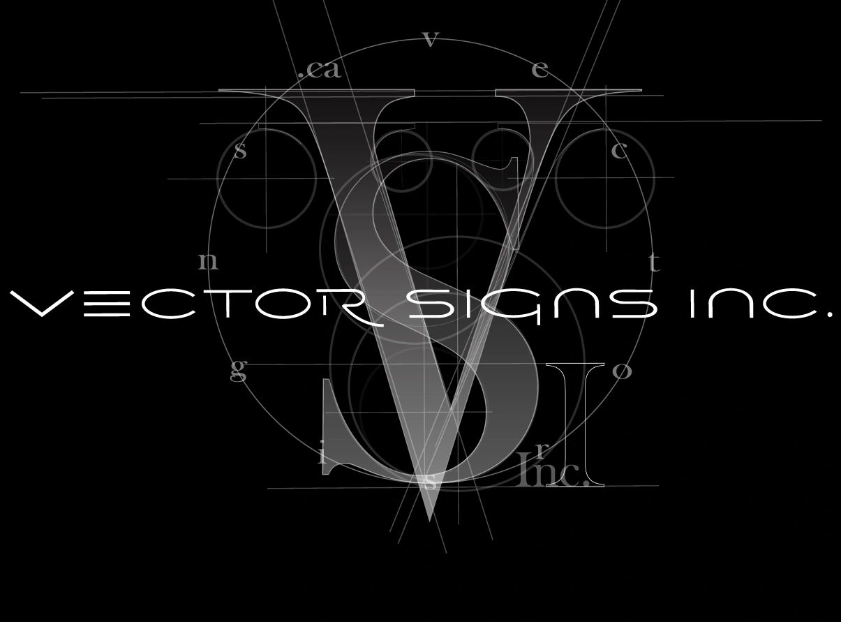 Logo Design for Vector Signs Inc.