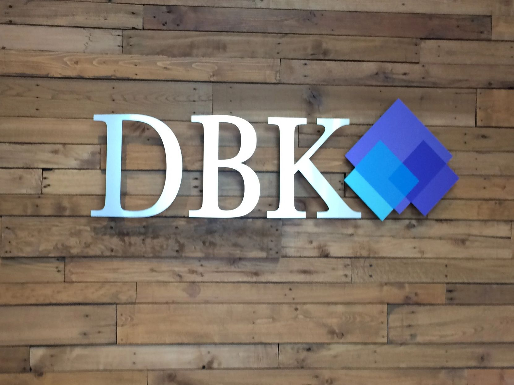 3D Gemini Letters for DBK Accounting Solution