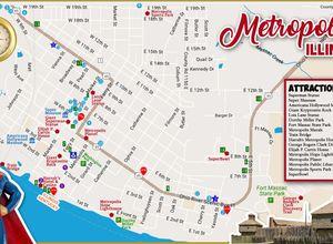 Map Of Metropolis Super Museum