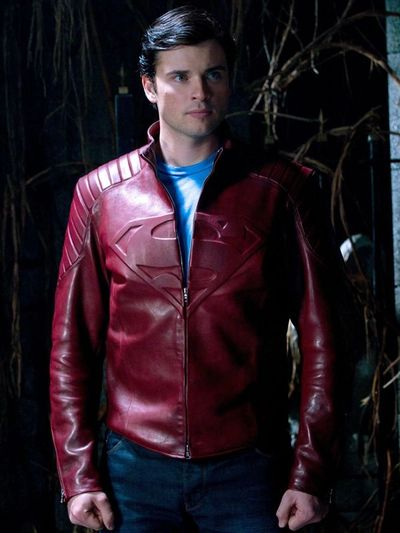 Tom Welling as Clark Kent and Superman in Smallville