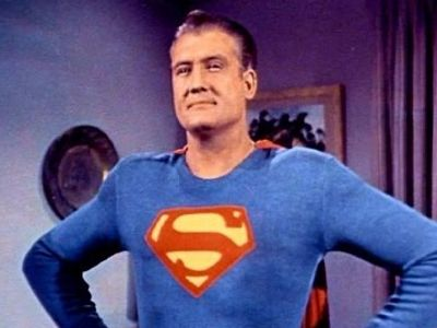 "George Reeves first Superman of Television  ""Adventures of Superman"""