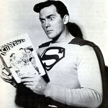 Kirk Alyn the first superman of film.
