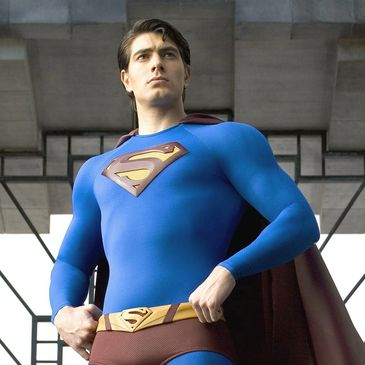 Brandon Routh as Superman in Superman Returns