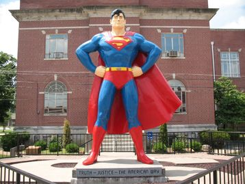 World's Largest Superman Statue