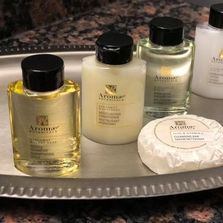 Arome brand Botanicals are provided in all of our rooms.