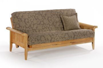 Night and Day Venice Futon Frame - Natural Finish