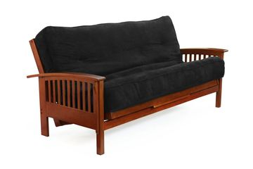 Night and Day Winchester Futon Frame - Cherry Finish
