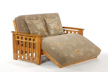 Night and Day Futon Lounger Loveseat Frame