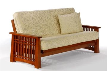 Night and Day Solstice Futon Frame - Cherry Finish