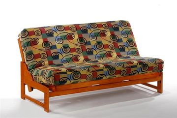 Anchor Eureka Futon Frame - Available in Brushed Driftwood, Cherry, Chocolate, Honey Oak and White