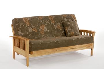 Night and Day Winchester Futon Frame - Natural Finish