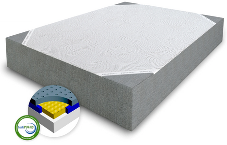 AWAKENINGS TOTALITY CHARCOAL INFUSED MEMORY FOAM MATTRESSES