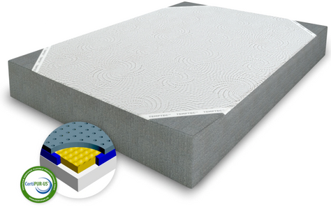 AWAKENINGS TRANSFORM CHARCOAL INFUSED MEMORY FOAM MATTRESSES