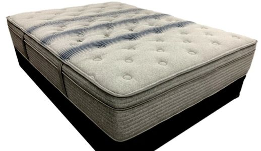 "Mattress and Futon Outlet Dreamline Triumph 14"" Plush Hybrid Mattress / wool & nested pocketed coils"