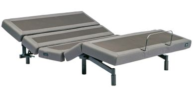 Mantua Rize Contemporary III Adjustable Power Base in lounge position