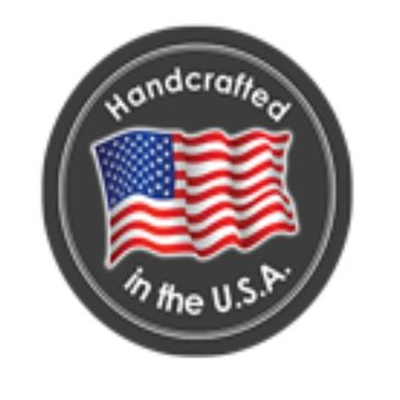 Handcrafted with Pride in the U.S.A.