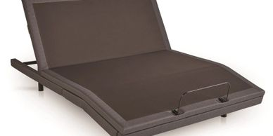 Mantua Rize Verge Adjustable Power Base - Foot of Bed Can Lower!
