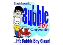 Bubble Boy Car Wash