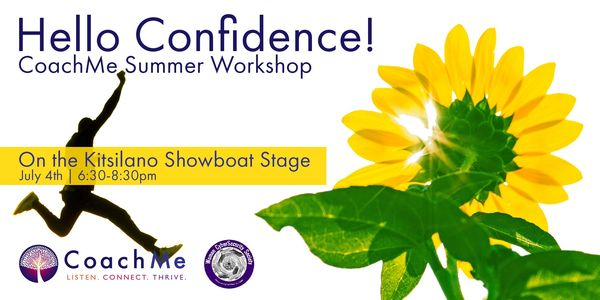 Hello Confidence - Summer Coaching Workshop.