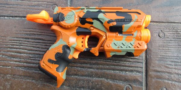 Orange-Black-Green Modified Firestrike