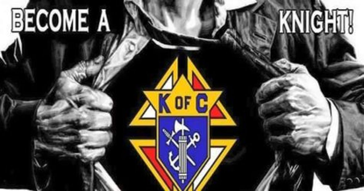 By giving 1 full day a year to the Knights of Columbus can make an enormous difference in your life