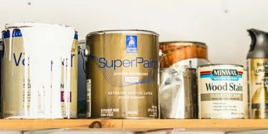 Top of the line paint products used