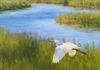 TIFFANY MASER - PAINTING - 18X18 - WAS $1200 NOW $100 - 92% DISCOUNT - BOOTH 123
