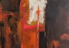 PEGGY FELIOT JENSEN - PAINTING - 60X36 - WAS $800 NOW $100 - 88% DISCOUNT - BOOTH 79