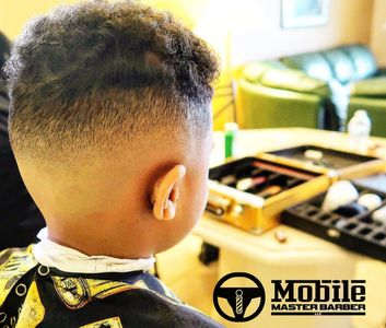Mobile Master Barber kid's cut