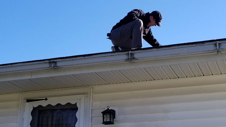 Snyder Home Buyers Inspections will walk on roofs during for complete report.