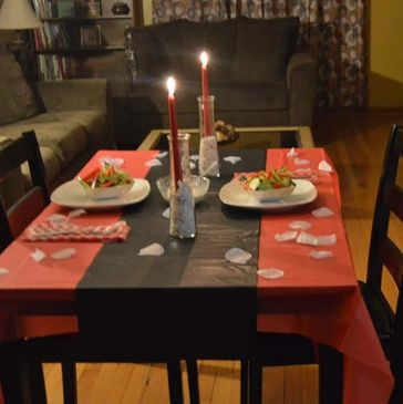 Simple dinner for two