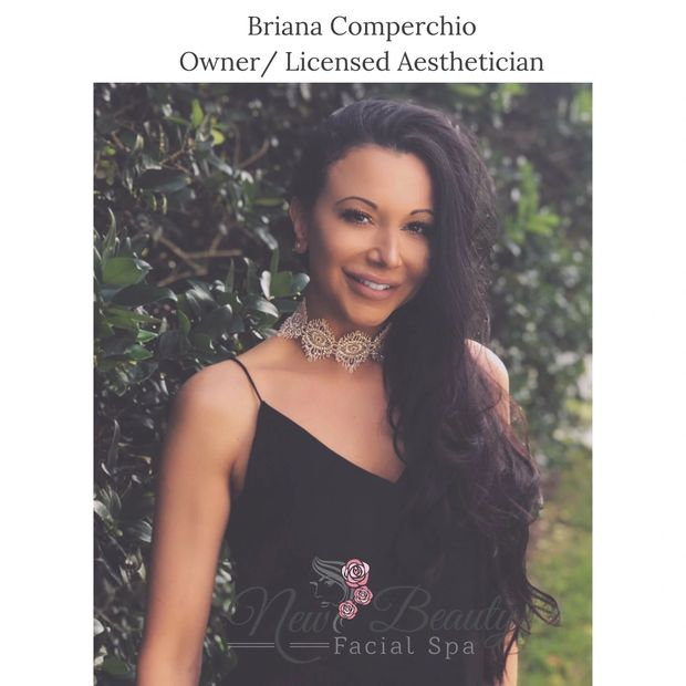 Briana Comperchio Owner at Newbeauty Facial Spa is best esthetician in altamonte springs, facials