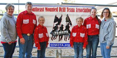 Southeast Mounted Drill Team Association SEMDTA Competition Team - Currahee Thunder