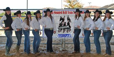 Southeast Mounted Drill Team Association SEMDTA Competition Team - Diamond D Elite Team