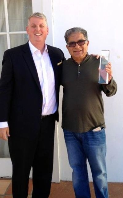 Mike Duffy With Deepak Chopra