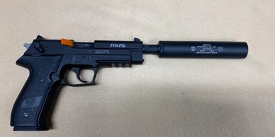Firefly with Gemtech suppressor