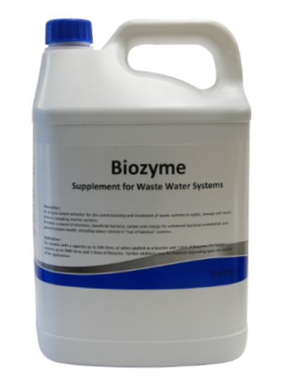 Enzyme supplement for waste water systems and septics