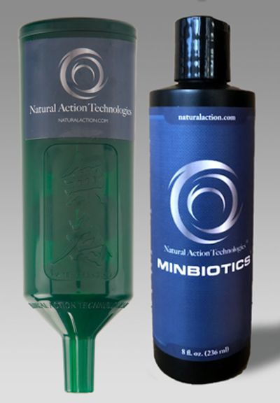 An Amazing Offer! Purchase a Green Portable and receive a Free bottle of Minbiotics!