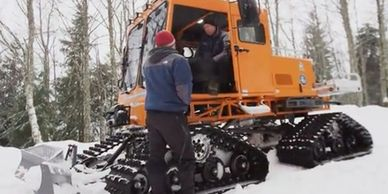 Snow Tracked Vehicle