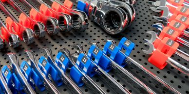 Toolgrid organization system obsessed garage tool grid organize tools wrenches socket sets