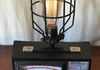 A fun industrial lamp for Sale at Tea Lynns in White Salmon.