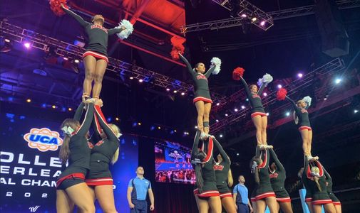 UNLV CHEER ALUMNI GAME SPECIAL EVENTS, COMMUNITY SERVICE, ETC..