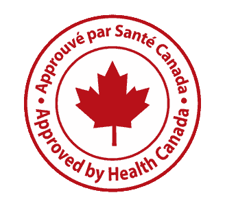 Approved by Health Canada