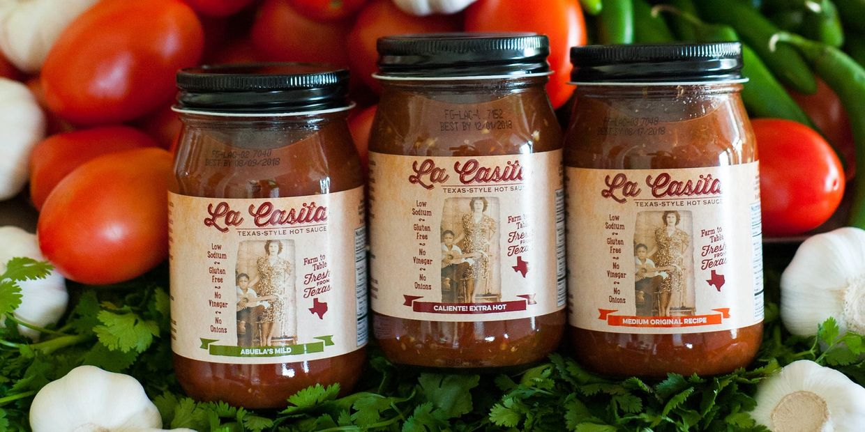 Award Winning La Casita Hot Sauce or specialty salsas out class the competition.