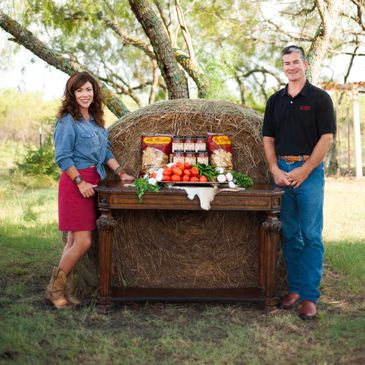 Todd and Veronica Westlake proudly use the freshest Texas produce for their specialty salsas.