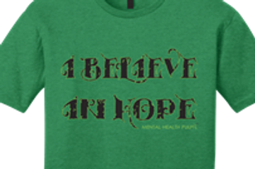 I believe hope mental health mental illness support advocacy mental health pulpit suicide prevention